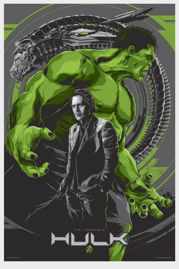 The Avengers - Hulk Mondo Poster