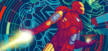 The Avengers Mondo Posters - Iron Man