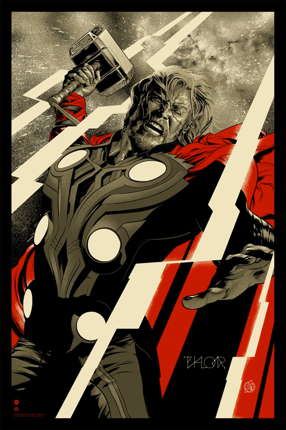 The Avengers - Thor Mondo Poster