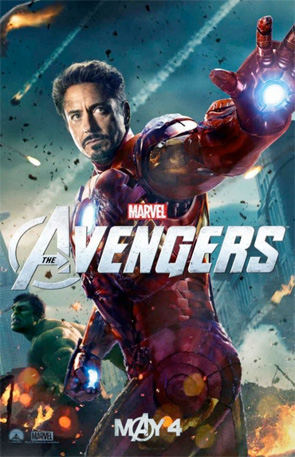 The Avengers - Iron Man & Hulk Poster