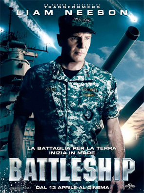 Battleship - Liam Neeson Poster