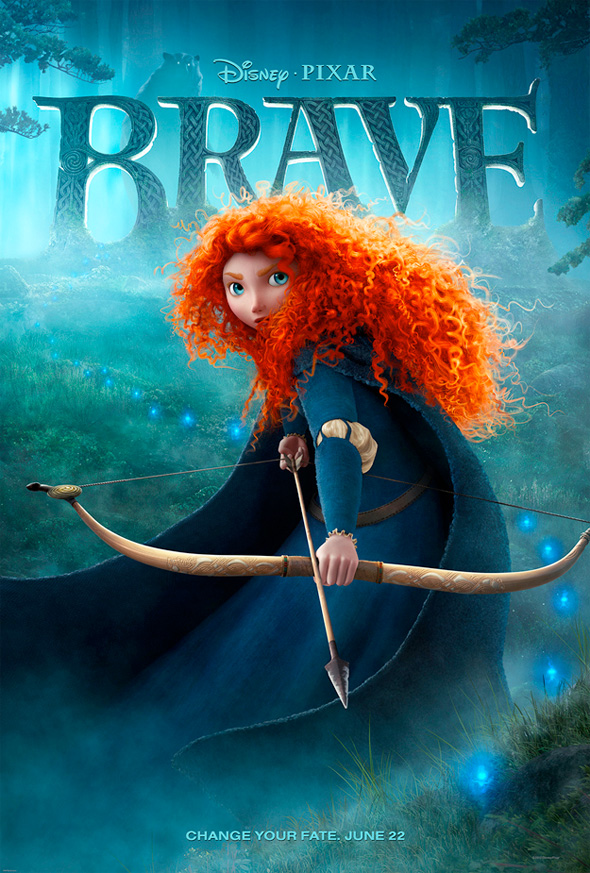 Brave - Theatrical Poster