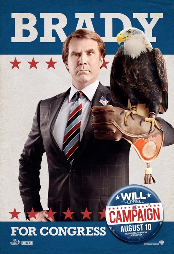 The Campaign - Brady Character Poster