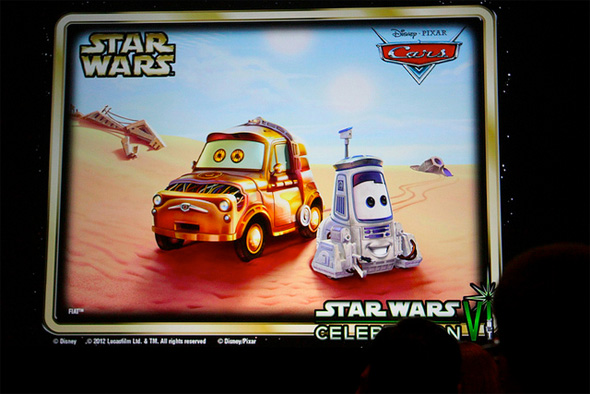 Cars - Star Wars - Luigi and Guido