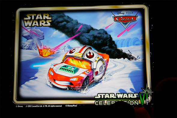Cars - Star Wars - Lightning McQueen