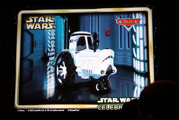 Cars - Star Wars - Tractor