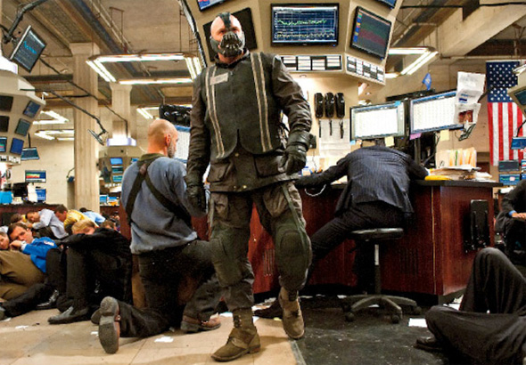 The Dark Knight Rises - Bane on Wall Street