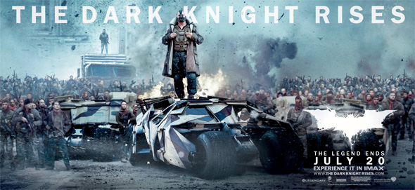 The Dark Knight Rises - Banner - Bane