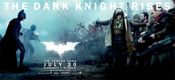 The Dark Knight Rises - Banner - Batman and Bane
