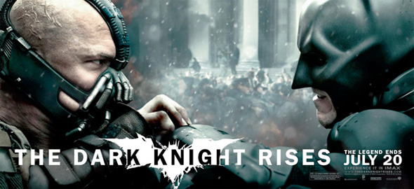 The Dark Knight Rises - Banner - Batman vs Bane