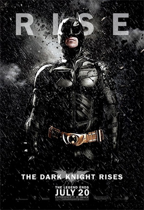Dark Knight Rises - Batman Rain