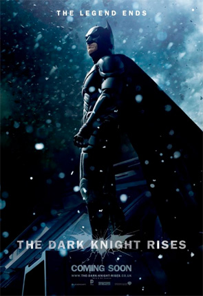 Dark Knight Rises - Batman Snow