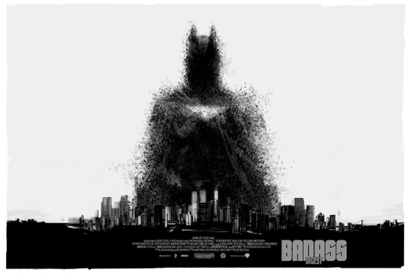 The Dark Knight Rises - Mondo Comic-Con Poster 1