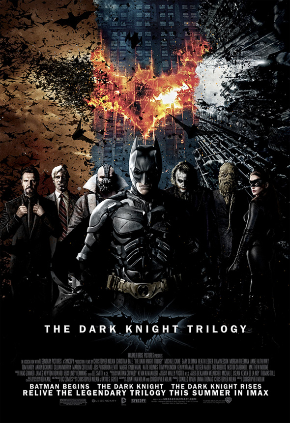The Dark Knight - Fanmade Trilogy Poster