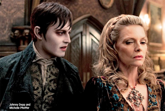 Dark Shadows - Johnny Depp and Michelle Pfeiffer