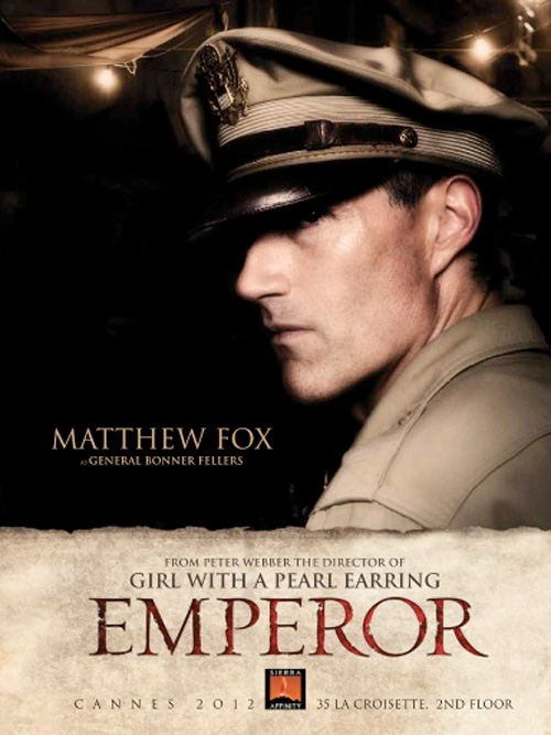 Emperor - Cannes Sales Poster - Fox