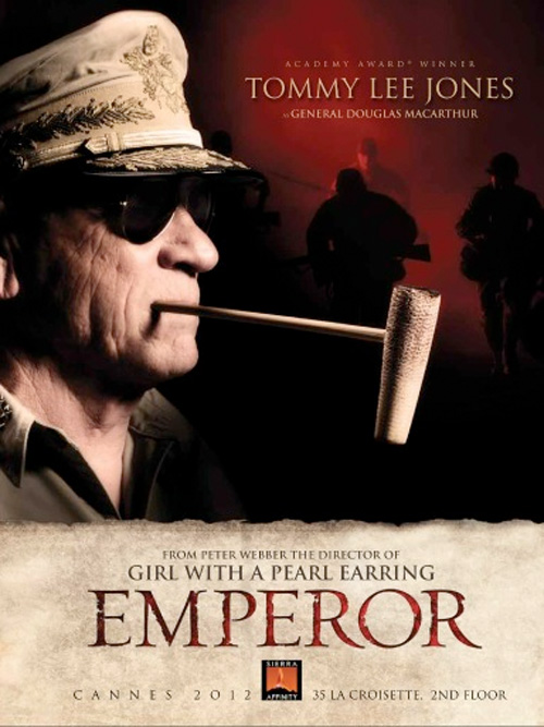 Emperor - Cannes Sales Poster - Jones