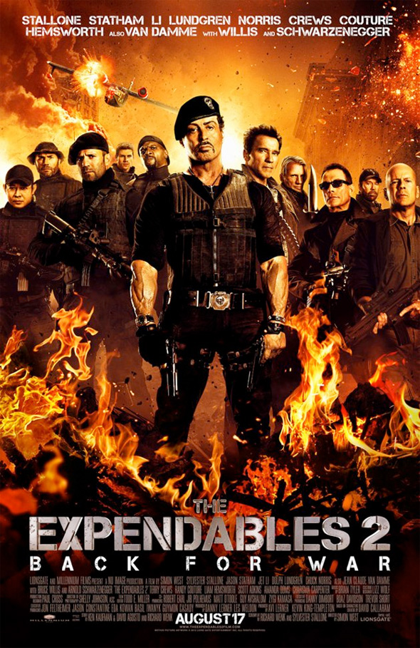 The Expendables 2 - Final Poster