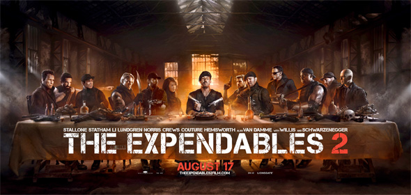 The Expendables 2 - The Last Supper Banner
