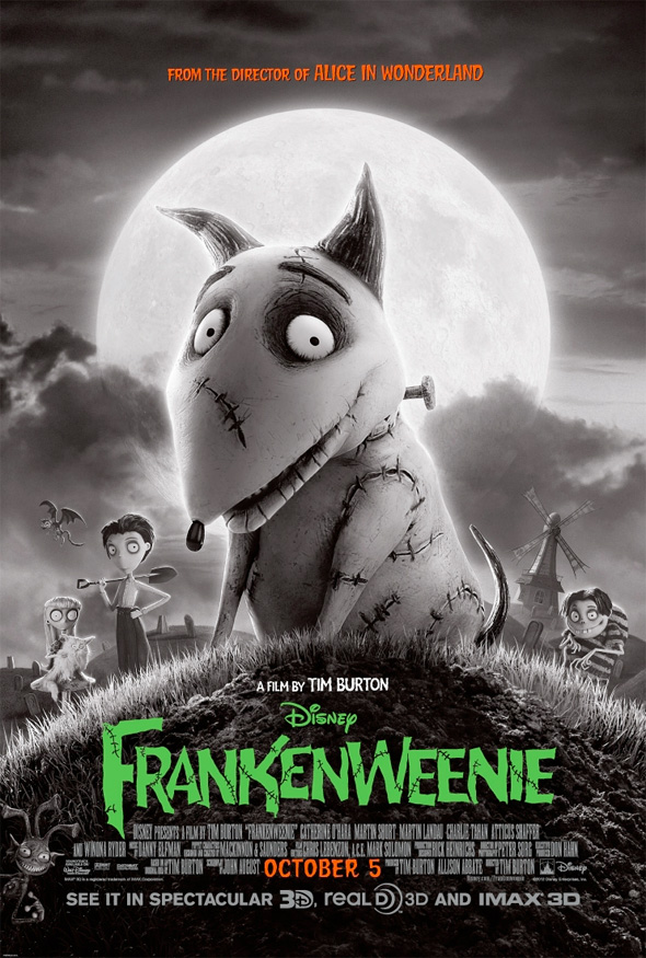 Frankenweenie - Second Poster