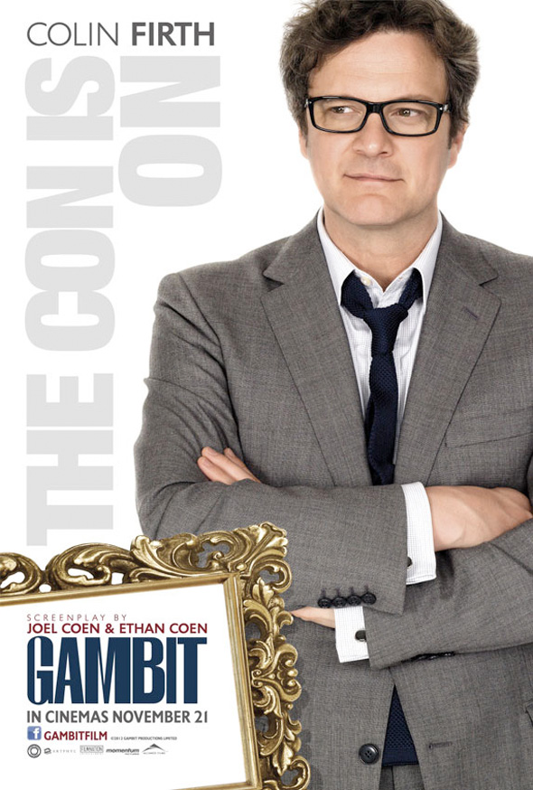 Gambit - International Poster - Colin Firth