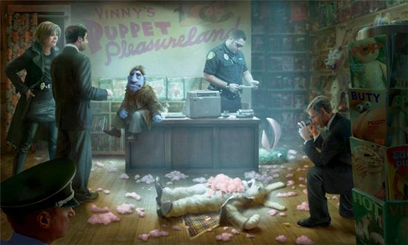 Happytime Murders - Concept Art
