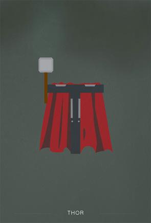 Helvetica Heroes - Thor