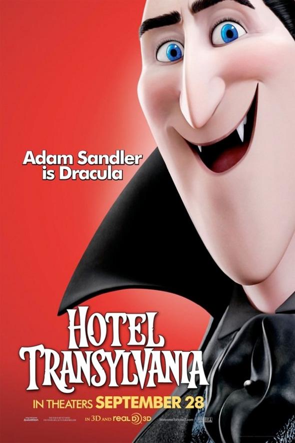 Hotel Transylvania Poster - Dracula