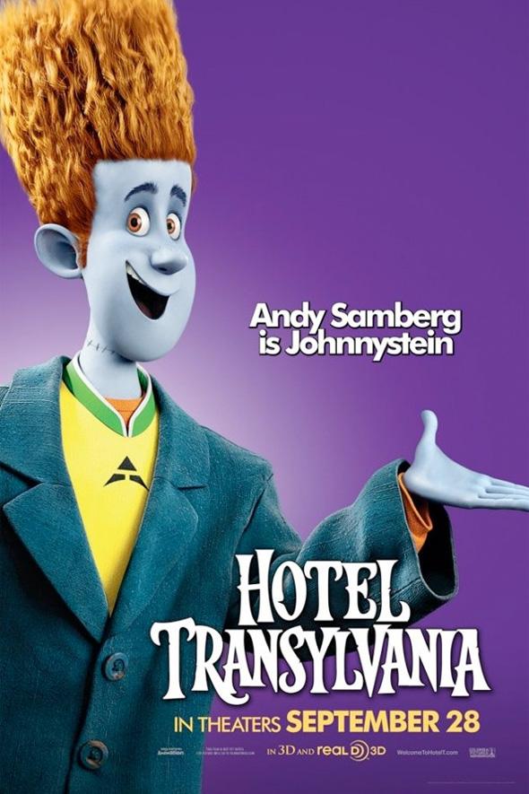 Hotel Transylvania Poster - Johnnystein