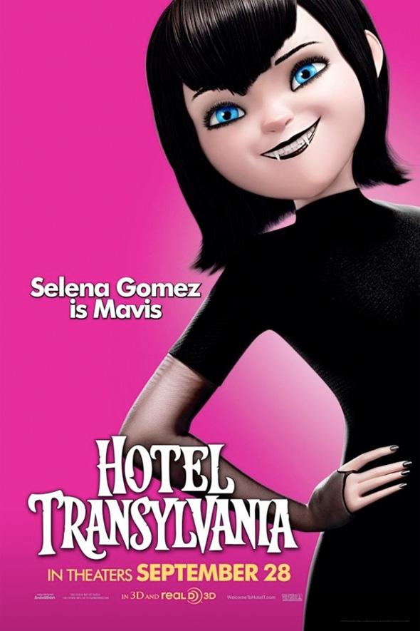 Hotel Transylvania Poster - Mavis