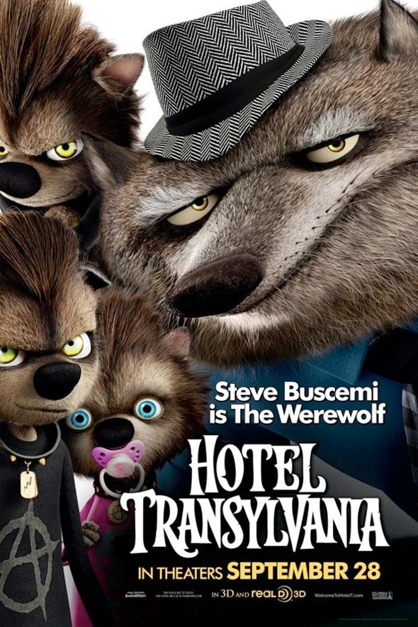 Hotel Transylvania Poster - The Werewolf