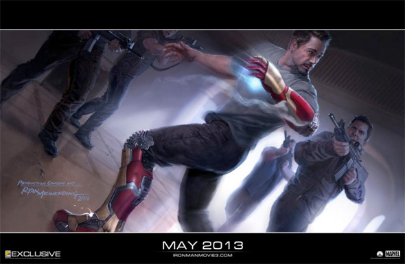 Iron Man 3 - Concept Art
