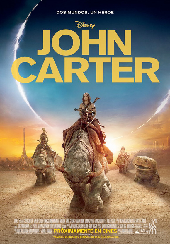 Disney's John Carter International Poster