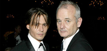 Johnny Depp and Bill Murray