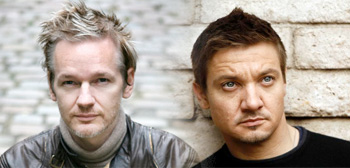 Julian Assange / Jeremy Renner