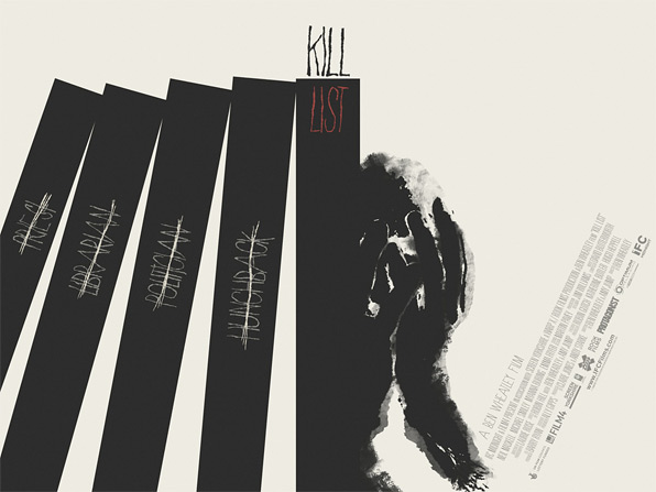 Kill List Mondo Poster