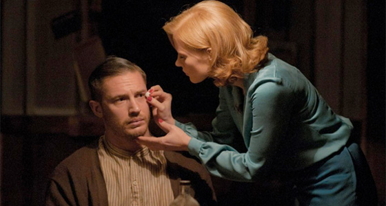 Lawless - Jessica Chastain and Tom Hardy