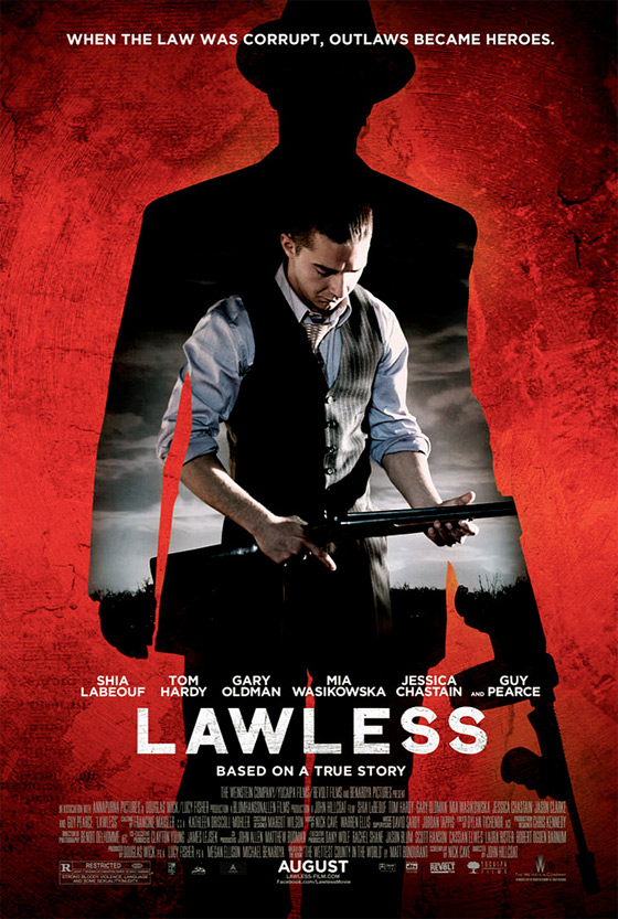 Lawless - Shia LaBeouf Poster