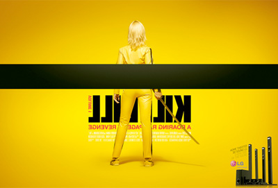 LG 3D Sound - Kill Bill Ad