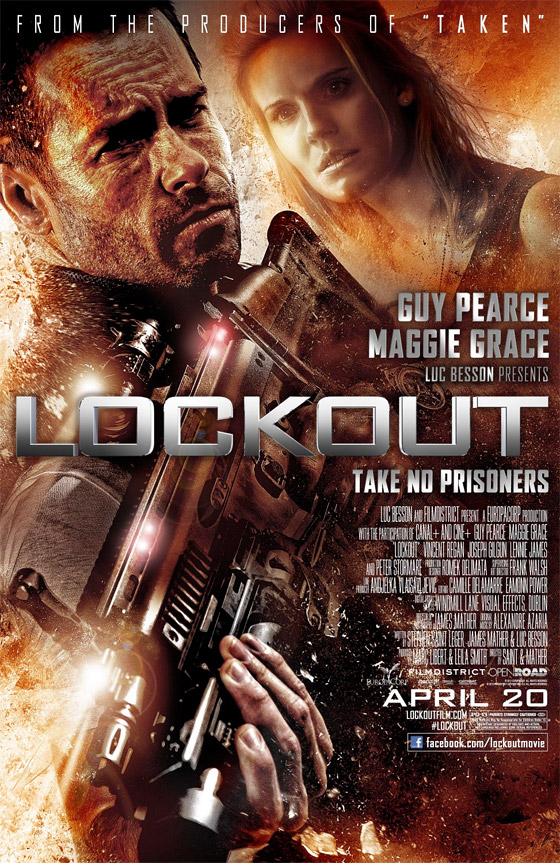 Lockout - Theatrical Poster
