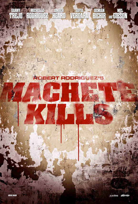 Machete Kills - Promo Poster