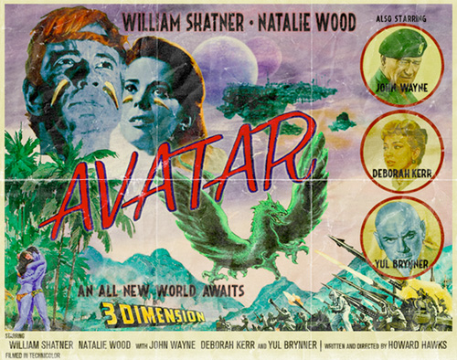 Modern Movies, Classic Posters - Avatar