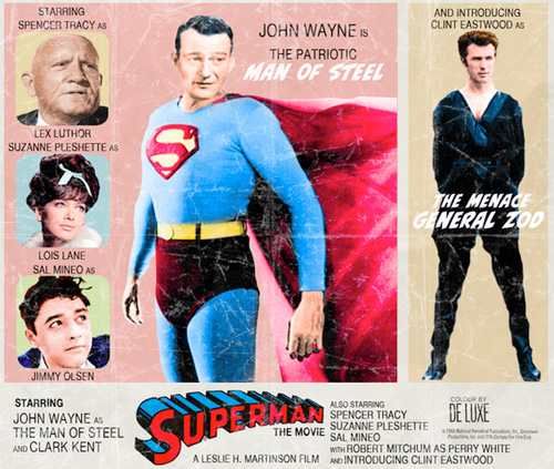 Modern Movies, Classic Posters - Superman