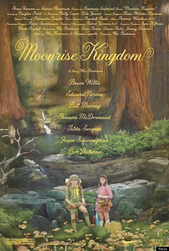 Moonrise Kingdom - First Poster