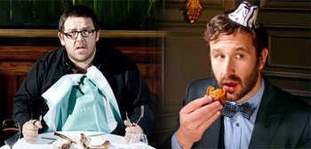 Nick Frost and Chris O'Dowd