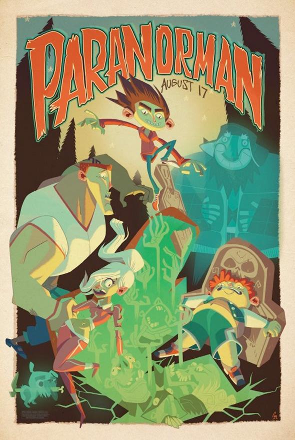 ParaNorman Mondo Posters - Glen Brogan