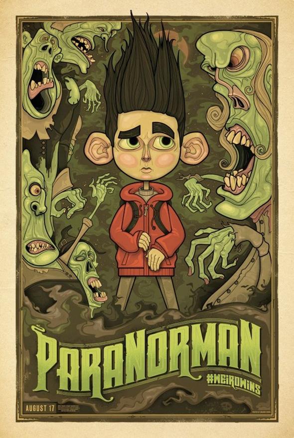ParaNorman Mondo Posters - Graham Erwin