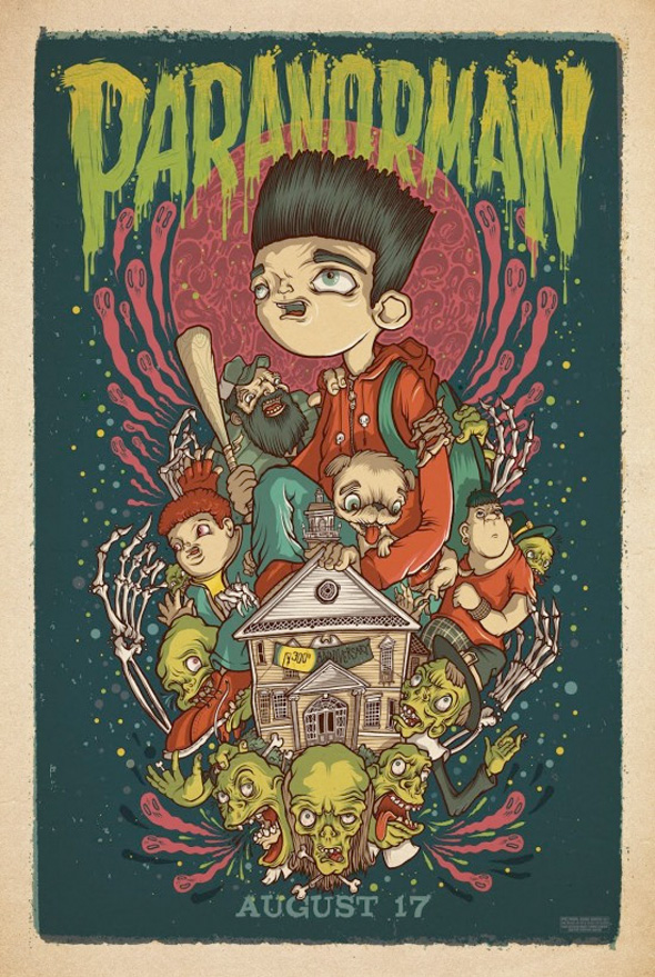ParaNorman Mondo Posters - Drew Millard