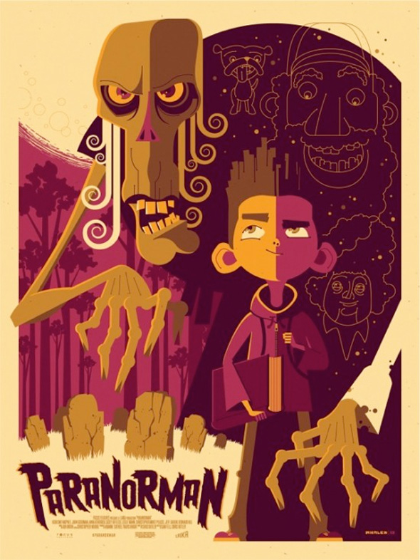 ParaNorman Mondo Posters - Tom Whalen