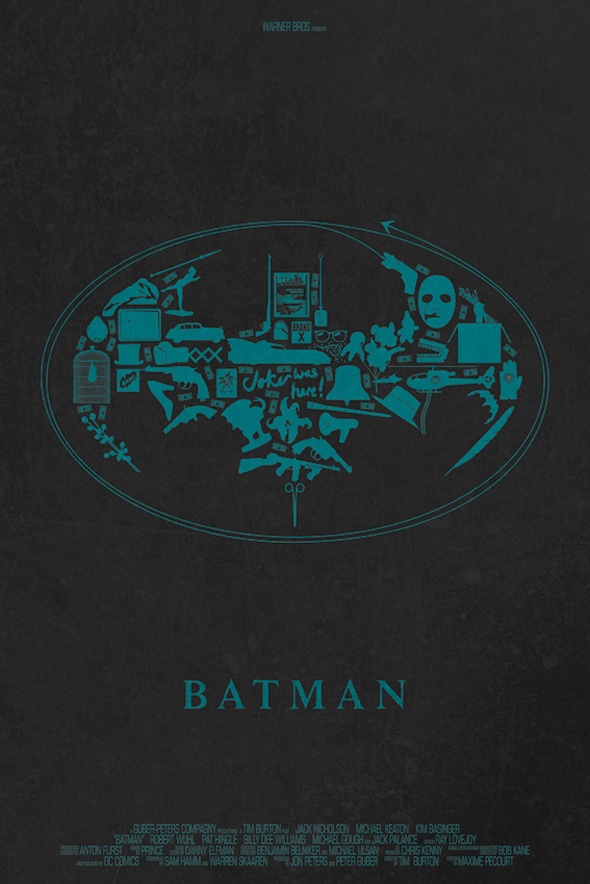 Maxime Pecourt Posters - Batman